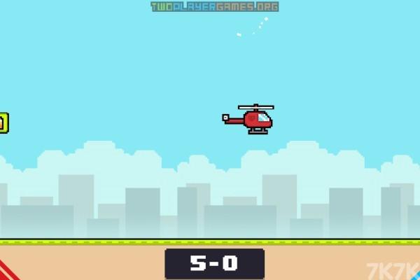《红蓝飞机对决》游戏画面4
