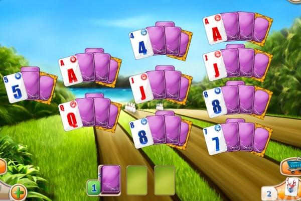 《保龄球纸牌》游戏画面2