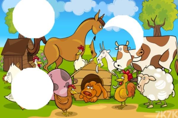 《简单农场拼图》游戏画面3