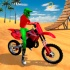沙滩特技摩托
